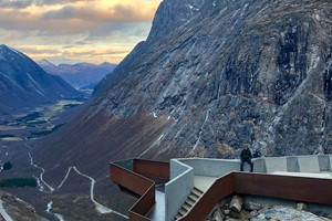 Experience Trollstigen with Fjord Tours on the Epic Fjord & Rail tour  - Åndalsnes, Norway