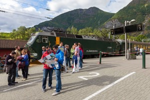 Flåm Station, Flåm Railway - Norway