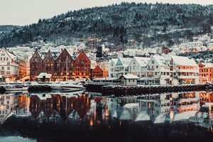 Experience Bergen on the Hardangerfjord in a nutshell winter tour by Fjord Tours - Bergen, Norway