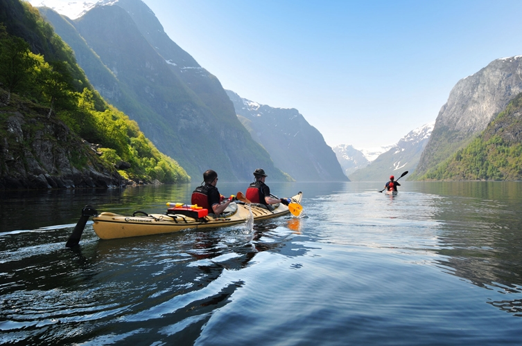 Kayaking in Flåm - 3 hours