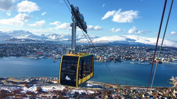 Cable car excursion tromso