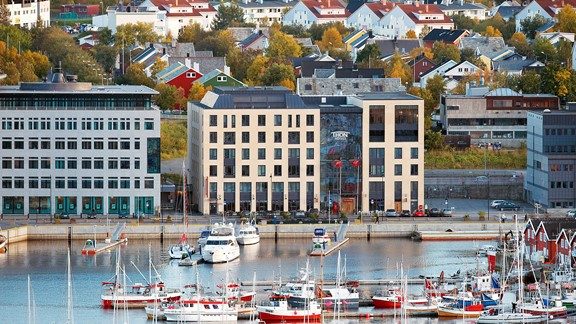 Hotels in central and northern Norway