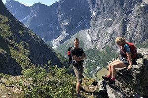 Hike to Trollveggen Viewpoint