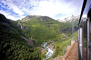 Experience the famous Flåm Railway with Fjord Tours on the Epic Fjord & Rail tour  - Flåm, Norway