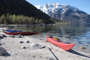 Go Viking kayaking trip in Eidfjord
