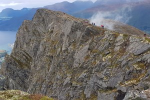 Experience Romsdalseggen with Fjord Tours on the Epic Fjord & Rail tour  - Åndalsnes, Norway