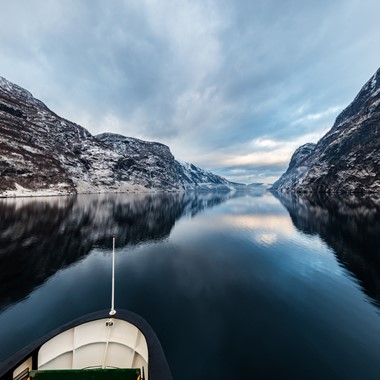 Fjord Cruise on the Nærøyfjord - Norway in a nutshell® winter tour by Fjord Tours - Flåm, Norway
