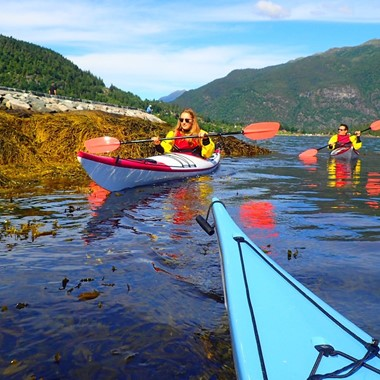 Guided kayak trip in Bergen