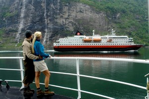 Experience a ride with  the Hurtigruten on the Hurtigruten & Norway in a nutshell® tour - Oslo, Norway