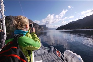 Fjord cruise on the Lysefjord - Stavanger, Norway