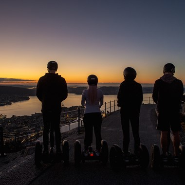 Bergen by Night Segway Tur