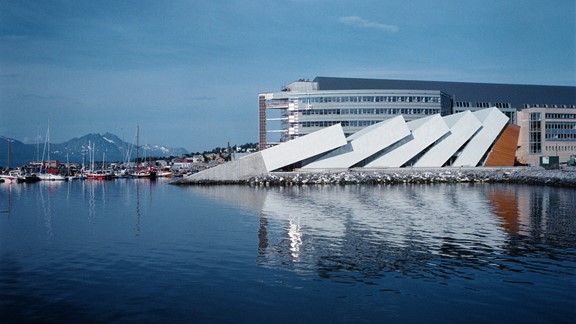 Polaria Aquarium in Tromso