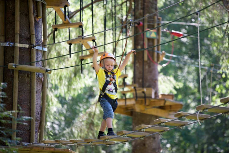 Mini & micro courses - Voss High Ropes & Zipline