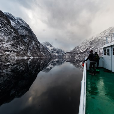 UNESCO Nærøyfjord - Norway in a nutshell® winter tour by Fjord Tours - Flåm, Norway