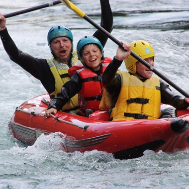 Family rafting in Voss - Voss, Norway, Norway in a nutshell® Family