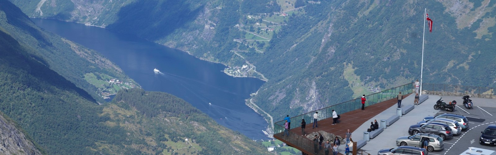 Geiranger Skywalk And Path
