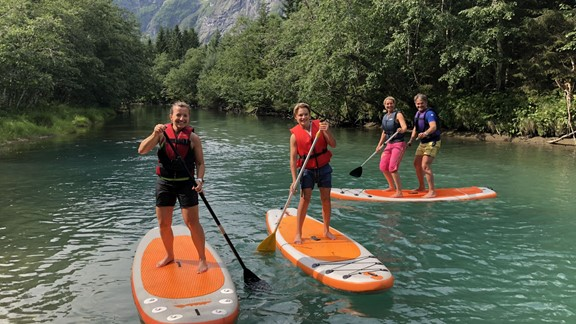 SUP on the Istra River - Åndalsnes