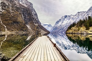 Experience Gudvangen on the Northern Lights & Norway in a nutshell® tour by Fjord Tours