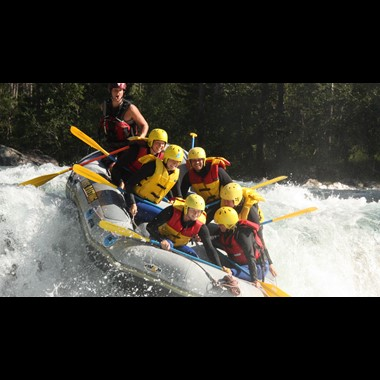 White water rafting in Voss