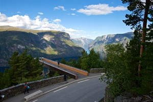 Experience Stegastein view point with Fjord Tours on the Epic Fjord & Rail tour  - Aurland, Norway