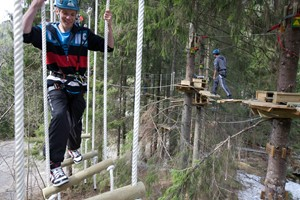 Voss high ropes course