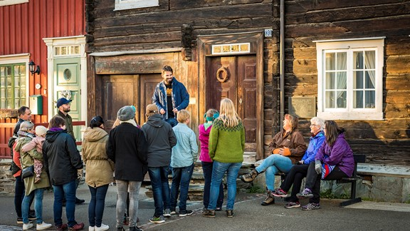 Guided tour of Røros