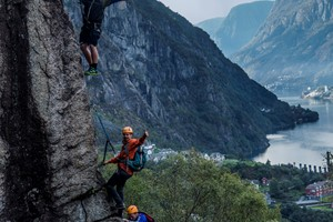 Tyssedal Via Ferrata in Odda