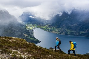 Experience Trailrunning at Hove on the Epic Fjord & Rail tour  - Loen , Norway