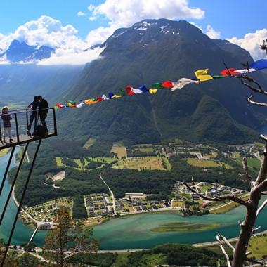 Experience Rampestreken view point with Fjord Tours on the Epic Fjord & Rail tour  - Åndalsnes, Norway