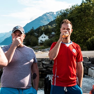 Taste great Cider at Agatun Farm on the Cider tour in the Hardangerfjord  - the Hardangerfjord, Norway