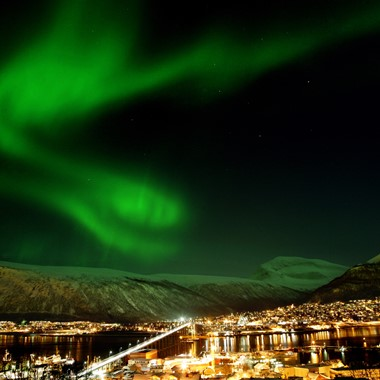 Experience Tromsø on the Northern Lights & Norway in a nutshell® tour by Fjord Tours