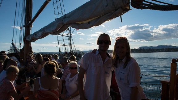 Oslo City Cruise an & aus