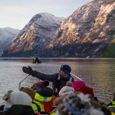 Winter fjord safari - Sognefjord in a nutshell winter tour by Fjord Tours - Flåm, Norway