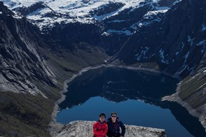 Experience the Trolltunga on the Hardangerfjord in a nutshell winter tour by Fjord Tours - Odda, Norway