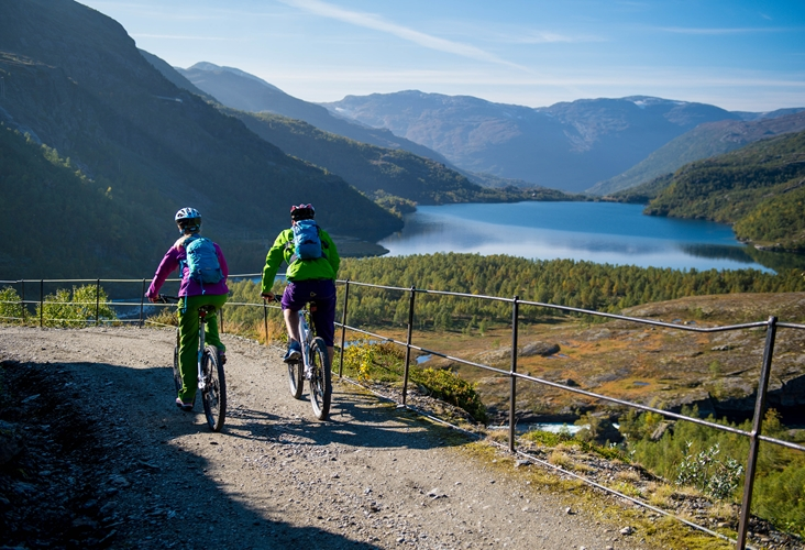 Rallarvegen - the Navvies' road  Mountain Biking Package Tour