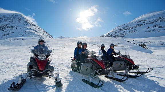 Snowmobile Safari in Tromso