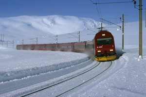 Experience the Bergen railway on the Hardangerfjord in a nutshell winter tour by Fjord Tours - Bergen, Norway