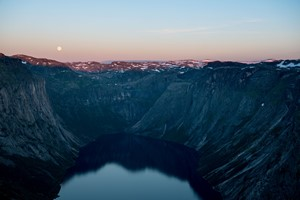 Experience Sunset in Odda on the Hardangerfjord in a nutshell tour & Rosendal  - Odda, Norway