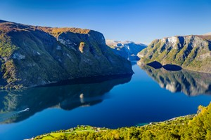 A beautiful day by the Aurlandsfjord - Aurland, Norway