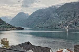Spring in the Aurlandsfjord - Aurland, Norway