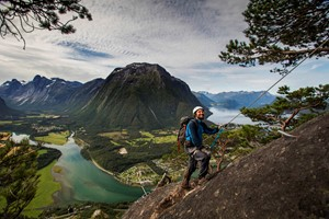 Experience Via Ferrata in Åndalsnes with Fjord Tours on the Epic Fjord & Rail tour  - Åndalsnes, Norway