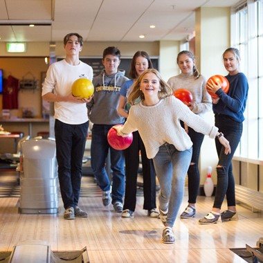 Bowling at Dr. Holms Hotel - Geilo, Norway