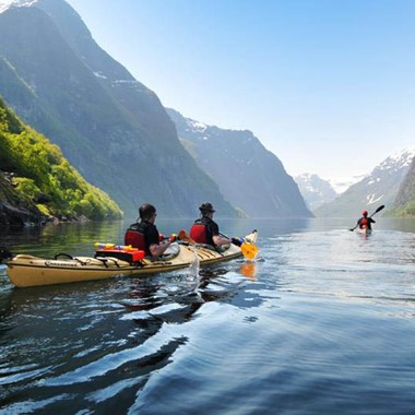 Norway in a nutshell® - Kayaking on the Nærøyfjord