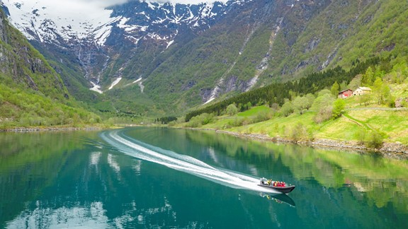 RIB- boat tour from Balestrand
