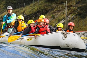 Family rafting - Voss, Norway