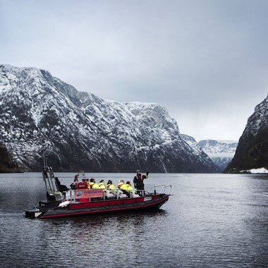Winter Fjordsafari in Flam