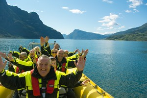 Fjord Rib adventure on the Lustrafjord