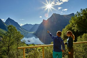 Hurtigruten & Norway in a nutshell® from Bergen to Hjorundfjord | Fjords & cruises |Fjord Tours