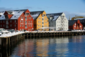 Guided city walk tromso