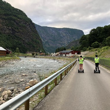 Guided Segway tour in Flåm - 120 min